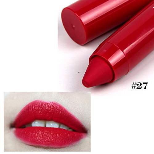 Fashion 8-color pencil-shaped lipstick long lasting moisturizing beauty rouge popular mouth red kilie lipstick Color lip (Armani Beauty Rouge)