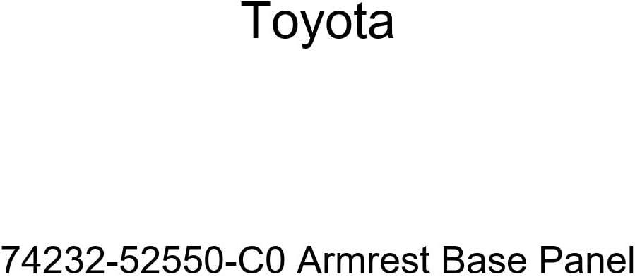 UPPER LH 74232-52550-C0 7423252550C0 Genuine Toyota PANEL FRONT ARMREST BASE