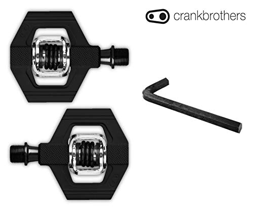 - CRANKBROTHERs Crank Brothers Candy 1 Bike Pedal Bundle, 8mm Hex Included - Pick Your Color (Black)