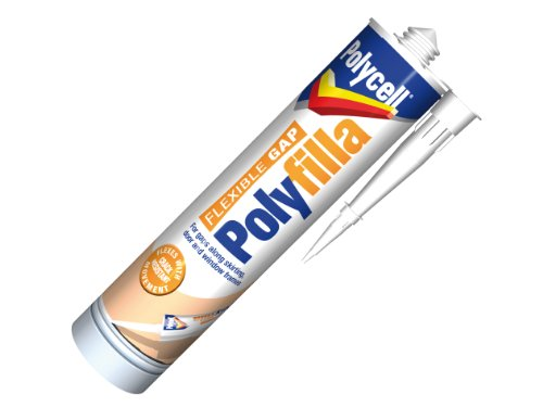Polycell Flexible Gap Filla Cartridge, 290 ml