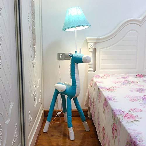 RXY-LAMP Nordic Floor Lamp Bedroom Bedside Lamp Living Room Hotel Ins Creative IKEA Sofa Coffee Table Leather American Floor Lamp