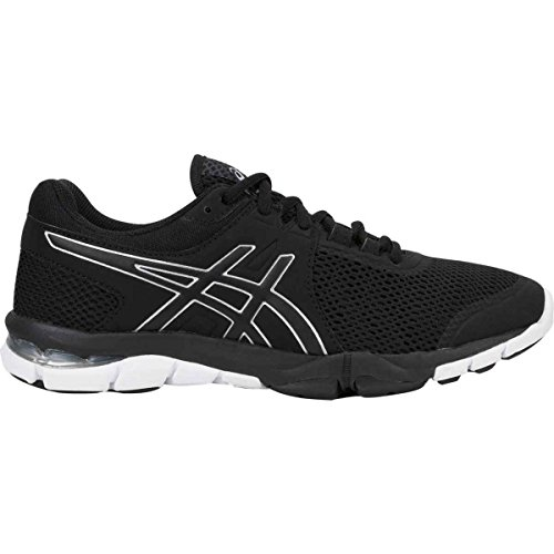 Black Women's 4 Gel Silver White Craze ASICS TR Trainer Shoe Cross 8IqdCqxw