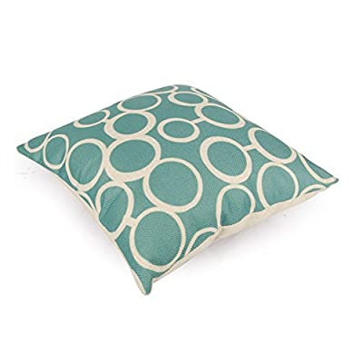 Top Finel 100% Durable Cotton Linen Square Decorative Throw Pillows Cushion Covers Pillowcases For Sofa.