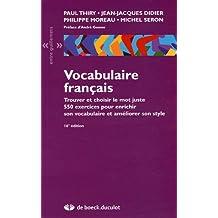 Vocabulaire français (16e ed) entre guillemets