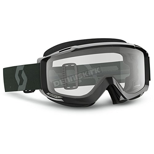 Scott Split OTG Sand Dust Adult Off-Road Motorcycle Goggles - Black/White/Grey/One Size