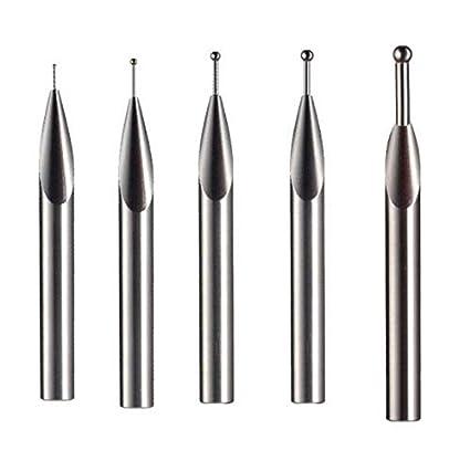 Ball Tip Probe Insert Tungsten Carbide Ball Tips 8mm Diameter Shank 75mm Length for Height Gauges 1mm Carbide Ball