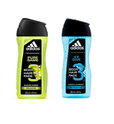 1 E 2 Effetto Da Confezione 3 Adidas Doccia Gel In Ice Shampoo FS0PwSq1
