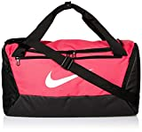 Nike Brasilia Small Duffel - 9.0, Rush Pink/Black/White, Misc