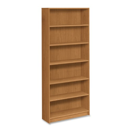 HON 5-Shelf Bookcase, 36 by 11-1 2 by 60-1 8-Inch, Harvest