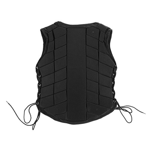 MonkeyJack Safety EVA Padded Breathable Horse Riding Equestrian Vest Protective Gear Body Protector Guard Shock Absorption Waistcoat - Kids Adult All Size Available - Kids CM