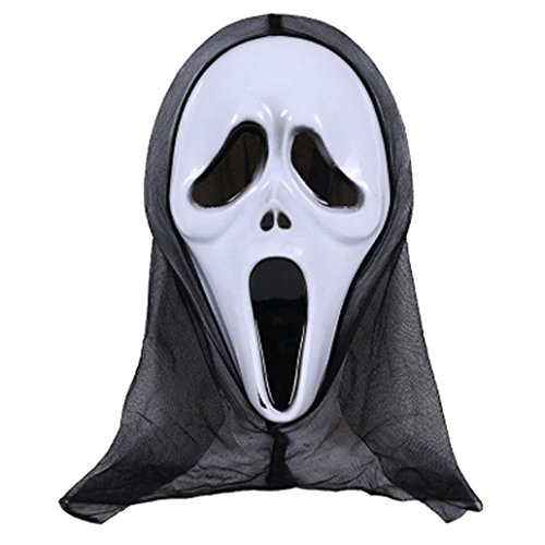 3 Stooges Halloween Costumes (Boomboom Halloween party Cosplay Mask Horror Grimace Mask (I))