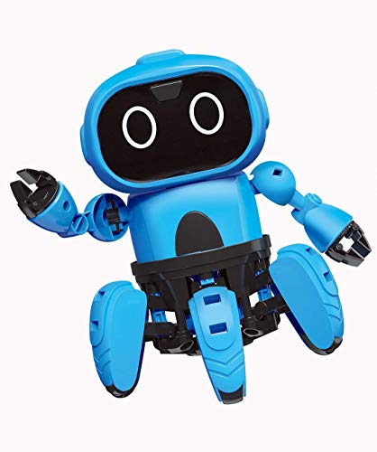 Bix STEM Robot Kits Take Apart Robots Gestural Sensing DIY Mechanical Assembly Robot Building Set for Boys, Girls, Kids, Children ()
