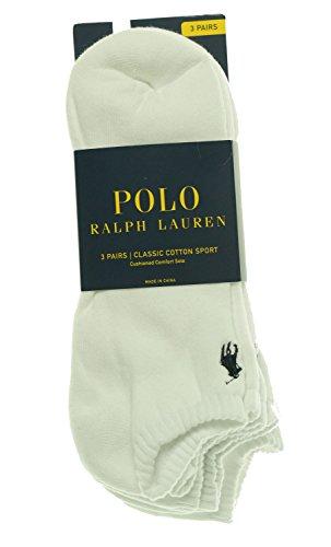 Polo Ralph Lauren Men's Cushioned Athletic Socks, 3-Pack - - Origin Of Country Lauren Ralph