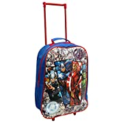 Kids Trolley Cabin Bag Suitcase with Wheels and Telescopic Handle – Ideal for Short Breaks, Holidays, sleepovers and…