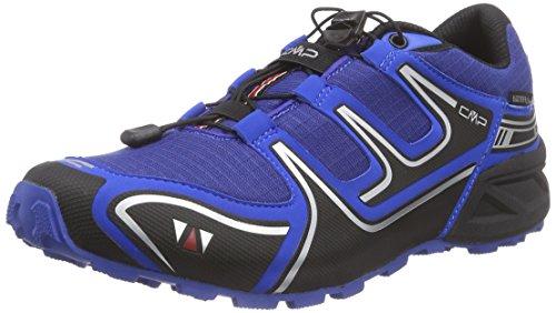 CMP Alhena - zapatillas de trekking y senderismo de material sintético hombre azul - Blau (VELA M867)
