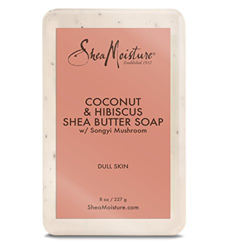 Shea Moisture Coconut Hibiscus Bar Soap, 8 Ounce