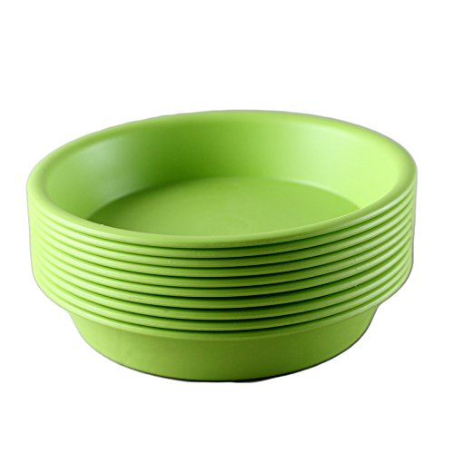 truedays-multicolor-flower-plant-container-pot-saucer-trays-pallet10-pack85-inchesgreen
