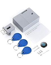 Festnight Kabinet RFID Lock Lit IC Card Sensor Keyless Digitale Verborgen Kabinet Smart Lock DIY Onzichtbare Lock Zonder Perforate Hole