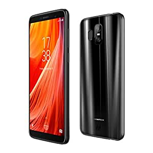 Peanutcool 5.5''Ultrathin Android7.0 Quad-core 3G+32G 4G WiFi Bluetooth Dual Smartphone (black, 5.5)
