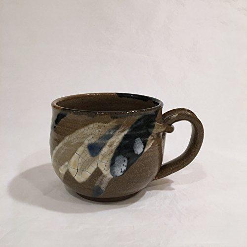 Cappuccino Cup, Ceramic Coffee Mug, Pottery Cup 16 oz CAPCNC5