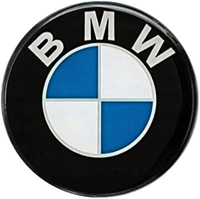 LogoEmbl Set of 4 x 62mm trim stickers Bmwlogo for wheel center hub caps covers emblems