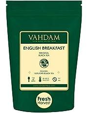 Original English Breakfast Foglie di tè nero (più di 200 tazze) FORTE, RICCO E AROMATICO, foglia sciolta del tè nero più fine del mondo - Birra calda, tè freddo, tè Kombucha, GRADO FTGFOP1, 454gm