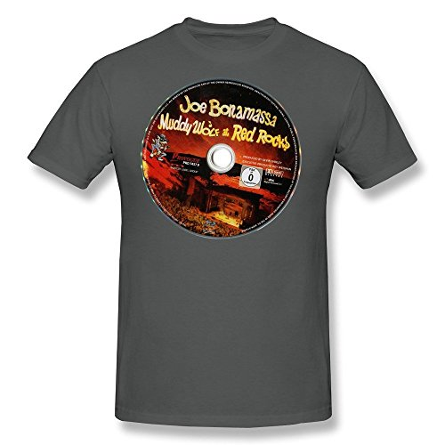 JIAYUHUA Men's Joe Bonamassa Tour 2015 T-shirt L DeepHeather