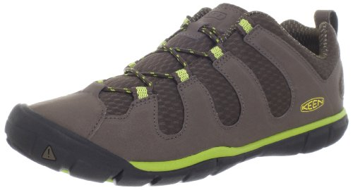 UPC 887194044443, KEEN Women's Haven CNX Hiking Shoe,Cascade Brown/Bright Chartreuse,8 M US
