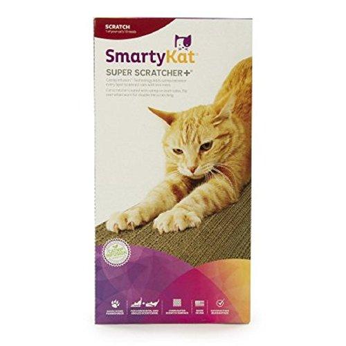 Super Scratcher (SmartyKat Super Scratcher+ Double Wide Corrugate Cat Scratcher with Infused Catnip)