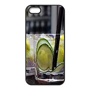 Fresh green lemon nature style fashion phone case for iPhone 5s