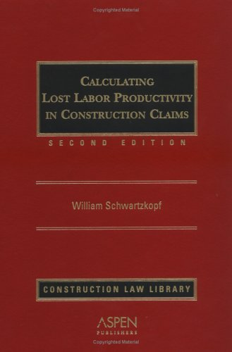 Calculating Lost Labor Productivity in Construction Claims