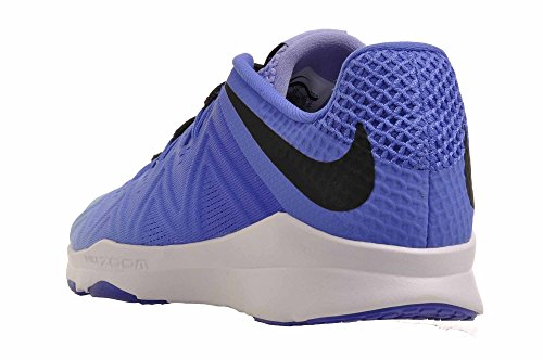 Nike Frauen Zoom Zustand TR Cross Trainer Medium Blau / Schwarz / Hell Distel