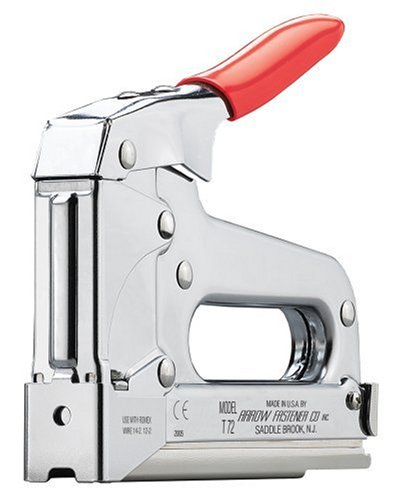 Arrow Fastener T72 Wire and Cable Staple Gun - Hardware Staples ...