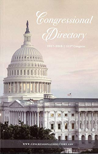 2017-2018 Official Congressional Directory 115th Congress