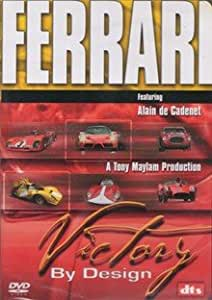 Ferrari - Victory By Design DVD (Dts)