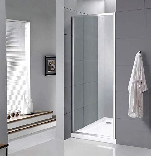 VeeBath Fenwick 1000 mm de ancho Panel lateral (para carcasas de ducha Fenwick) cromado (para hacer un cubículo en el baño): Amazon.es: Bricolaje y herramientas