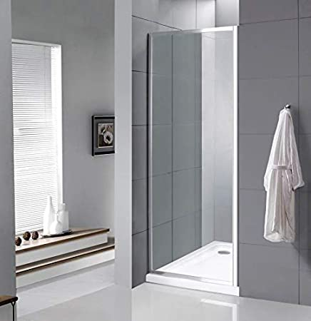 VeeBath Fenwick 760 mm ancho Panel lateral (para carcasas de ducha ...