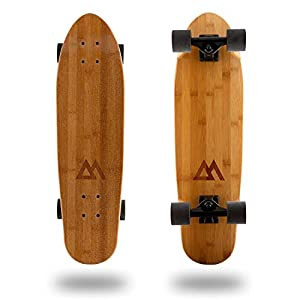 Magneto Mini Cruiser Skateboard Cruiser | Short Board | Canadian Maple Deck – Designed for Kids, Teens and Adults …