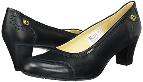 Abeba 3990–36Business Lady scarpe di sicurezza Pumps, Nero, 3990-40