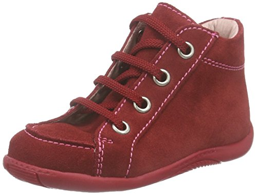 Däumling Timmy Baby Mädchen Sneaker Rot (Turino cardinale10)