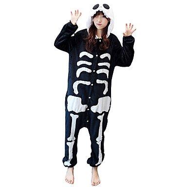 Pijamas Disfraces Esqueleto mallas/pijama entero Fiesta/Vacaciones pijama a Fantasia animales Halloween animales