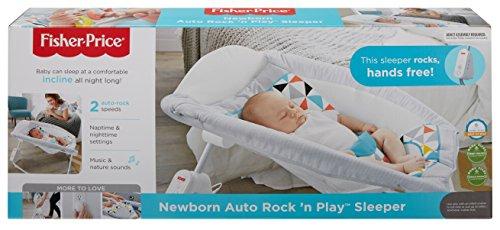 Fisher Price Auto Rock N Play Sleeper Geo Multicolor