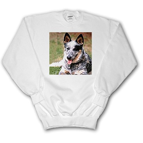 Dogs Australian Cattle - Australian Cattle Dog - Sweatshirts - Adult SweatShirt Large (ss_738_3) ()