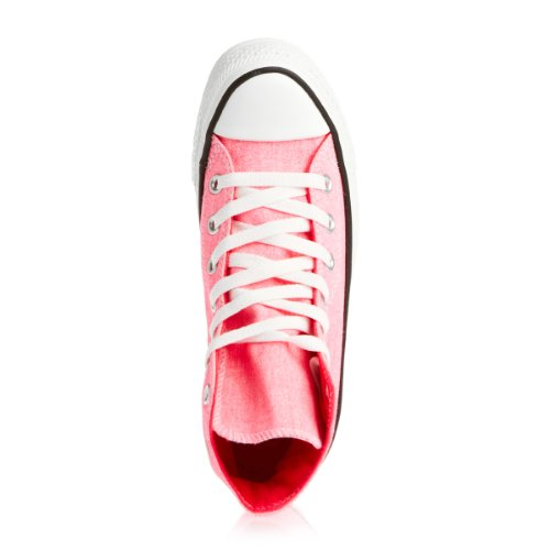 Rose All Wash Neon Taylor Chuck Hi Converse Baskets Femmes Star Mode fFEwqxv