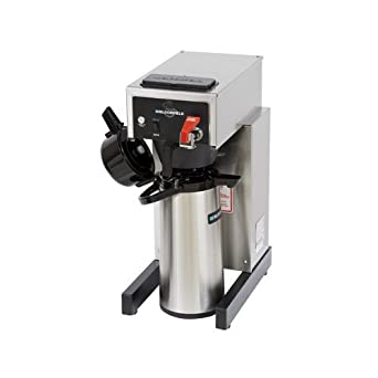 Bloomfield 8782AF Gourmet 1000 Automatic Airpot Brewer, Pour-Over Option, Faucet, 17 Depth, 10 Width, 21 1 2 Height