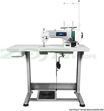 Top de Oferta: La Industria Máquina de coser zoje – para grosor de tejidos – Completo (con mesa y estructura) ¡NUEVO.: Amazon.es: Hogar