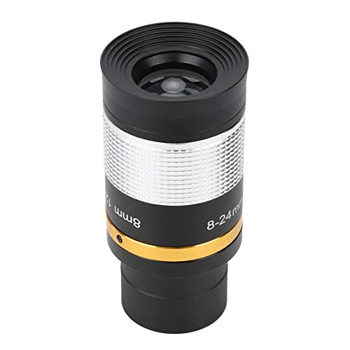 Bigking Zoom Eyepiece Lens,Professional 8-24mm Zoom Eyepiece Optic Telescope Lens for Star Watching Astronomical Use