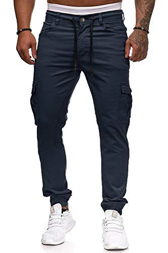 Herren Hose Jogger Chino Cargo Jeans Hosen Stretch Sporthose Herren Hose mit Taschen Slim Fit Freizeithose