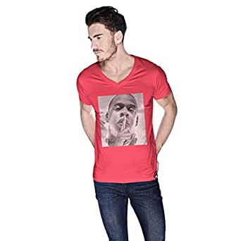 Creo Jay Z T-Shirt For Men - M, Pink
