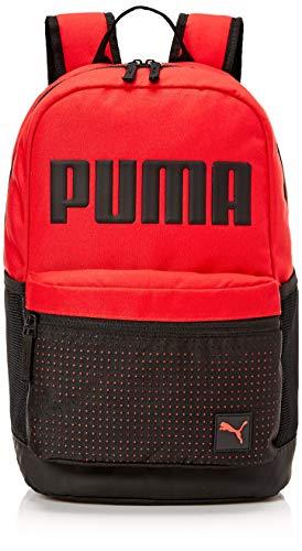 PUMA Men's Generator Backpack, Medium Red, One Size